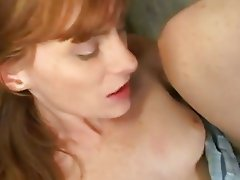 Lusty Allison Wyte wanted nothing more than a hot bang on her twat til she cums