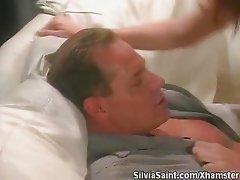 Silvia Saint - Squirting orgasm by a hot Redhead