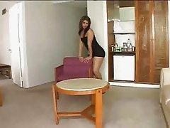 Black Miniskirt Ladyboy