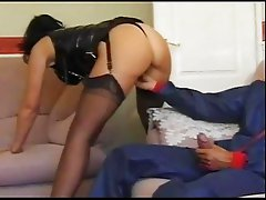 British milf Sarah Beattie fucks the handyman