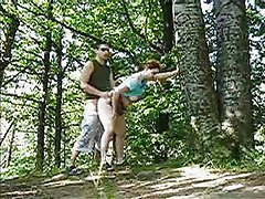erwischt beim outdoor sex