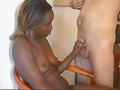 Ebony Mary Handjob