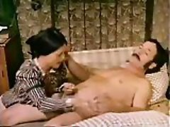 Hairy pussy swallows  nimble dick