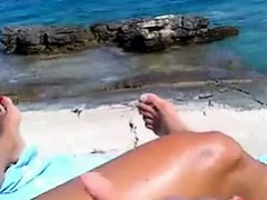 Handjob By The Water POV