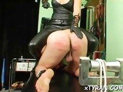 mistress gets feet licked