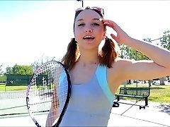 Tennis Playing Teen 1