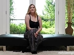 Hardcore doggy style fuck for a chubby busty blonde teen babe Tayler