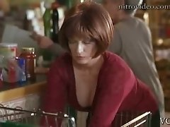 Busty Redhead Actress Kim Pawlick Shows Her Super Hot Cleavage