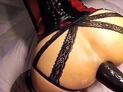 Anal fetish ho toys ass with vibrator and toy in hd