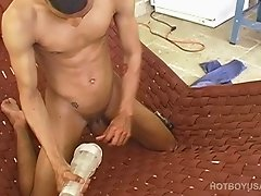 Twink Aaron Armstrong Jacking Off