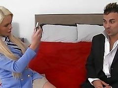 Hammering babes vagina doggystyle thrills stud