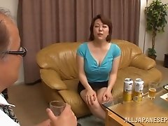 Immoral Mature Asian Getting Her Hairy Pussy Drilled