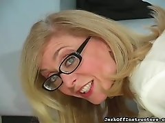 Nina Hartley striptease and JOI