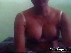 Cute Indian Doing A Striptease
