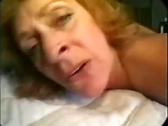 Curly haired mature slut Gypsy Blue gonna be fed with cum after steamy fuck