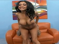 Glamorous Indian girl spread and boned in her wet pussy