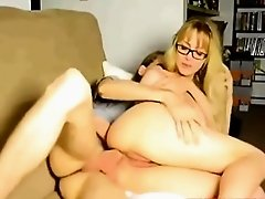 Amateur couple anal sex on webcam