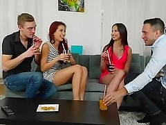 Foursome sex extravaganza