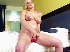 Pregnant beauty needs the hard and rough fucking he provides