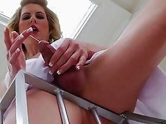 Maia Davis and Delia DeLions share a Cock