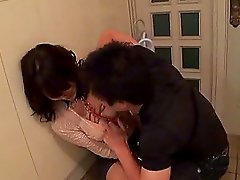 Asian hooker handcuffed then enjoys fingering and hardcore cock ramming