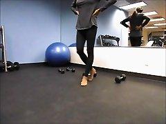 Angelica Marie Rios Workout Voyeur Video