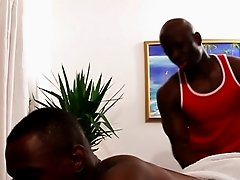 Cut black masseur sucking in sixtynine pose