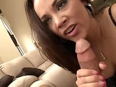 Kristina Rose is getting poked in the bootie while her fucking partner is out of town
