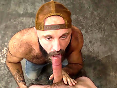 Lumber Yard Scene 1 featuring Jordan Levine and Teddy Bear