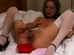 Blonde Housewife Gets A Creampie By A BBC