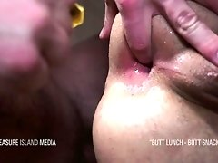 Suck the cum out of my asshole and spit it in my mouth