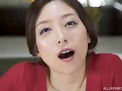 There is nothing better for Shiraki Yuuko than sucking a dick