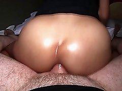 Ladyboy Teen Alice Gets Fat Cock