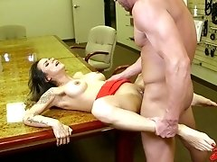 Nadia styles takes big cock client