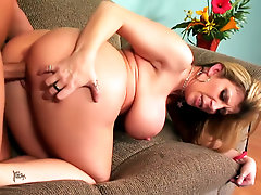 Flexible milf Sara Jay fucked like a cock whore