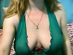 Chubby Mother With Nice Tits Masturbates