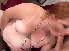 Fat Redhead Scarlett Raven Gets Screwed