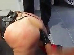 Real submissive french whore