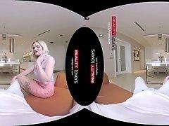British Nympho Slut in VR scene
