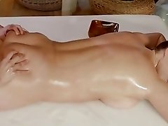 Massage Rooms British girl Victoria Summers loves to lick and suck pussy