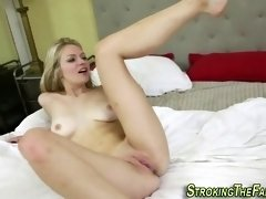 fucks my babe putting her on the penis