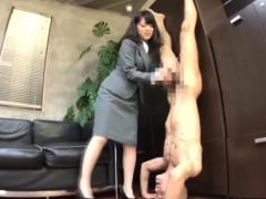 Seductive Japanese babes displaying their handjob abilities