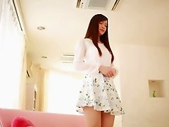 Tsubasa's beautiful pussy is ready for the missionary penetration!
