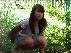 Stockings asian pee park