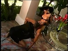 Sexy pornstar with hot ass in glasses having her pussy licked before getting hammered outdoor