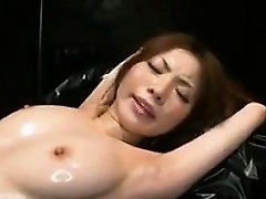 Japanese Girl Oiled Up And Tied Down