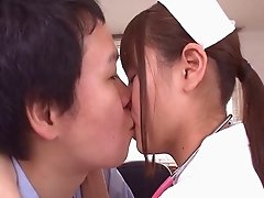 Stunning hot Japanese doll enjoys every moment with this thick sweet cock