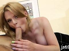 Slutty barely legal Natasha Brill feels a pole