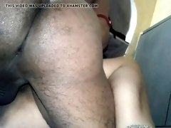 Indian wife fucking with a condom