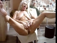 sexy and crazy mature lady